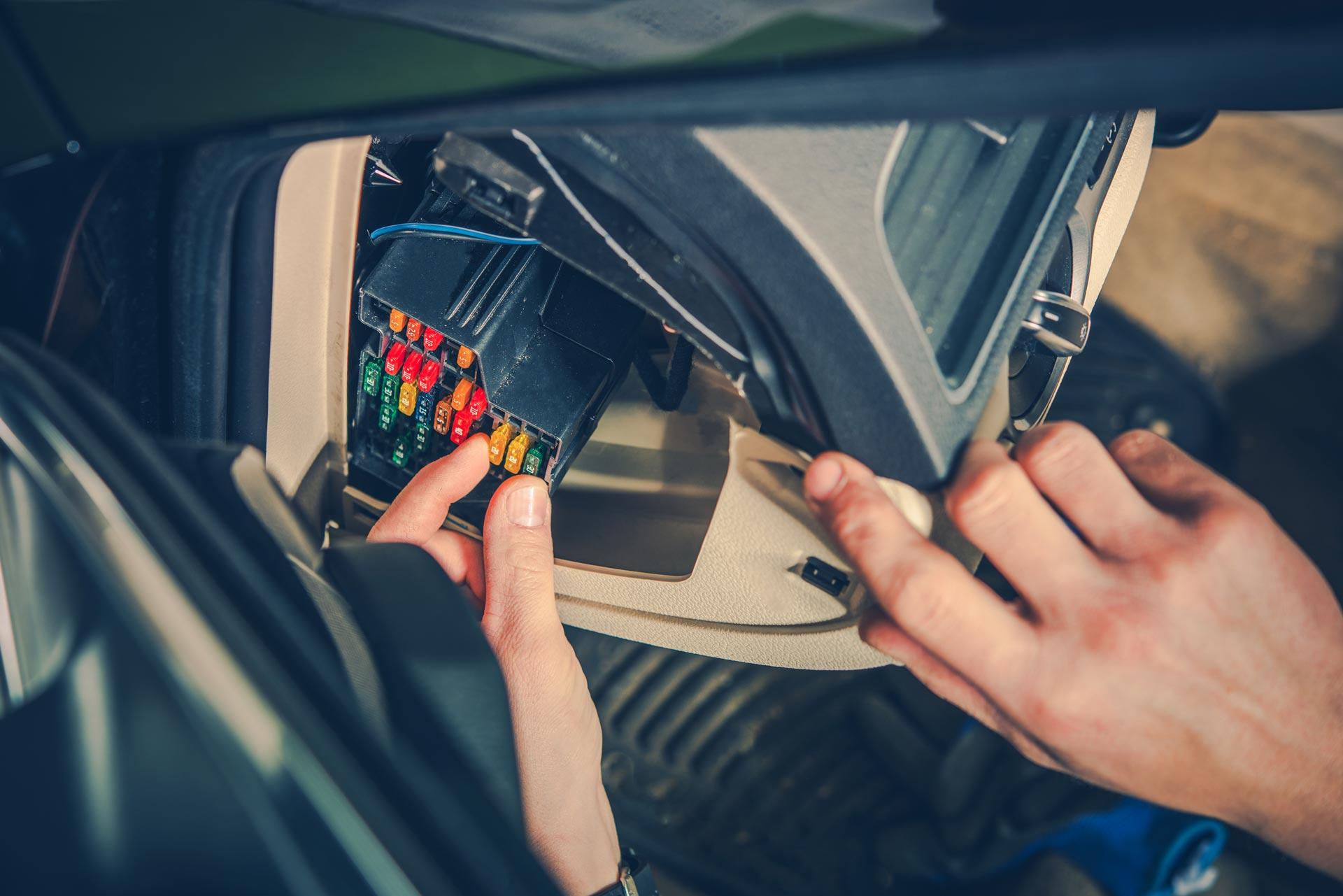 car fuse and electric repair